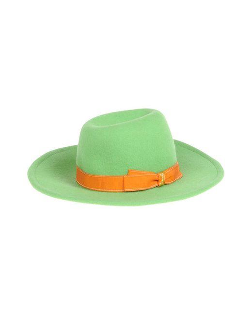Borsalino | Женская Зелёная Шляпа