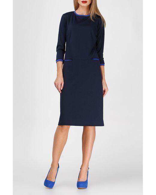 BERENIS | Женское Синее Платье