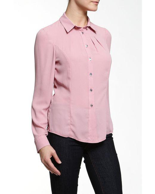E.LEVY | Женская Розовая Блузка