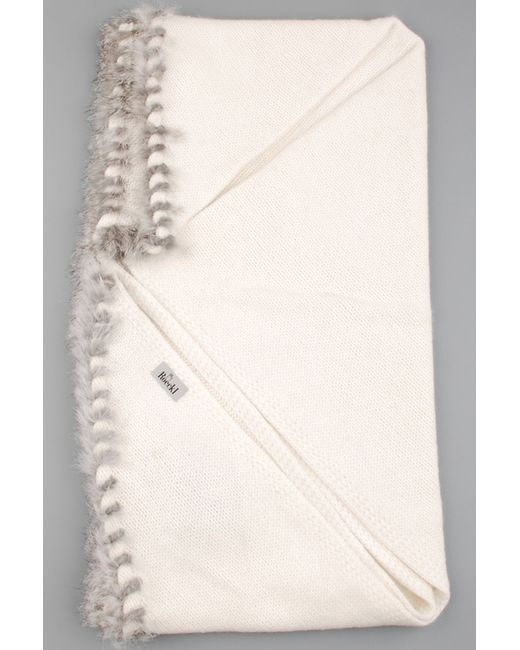 Roeckl | Женская Белая Шаль
