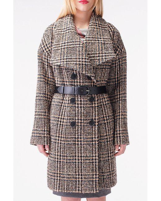 Stella Di Mare | Женское Коричневое Пальто