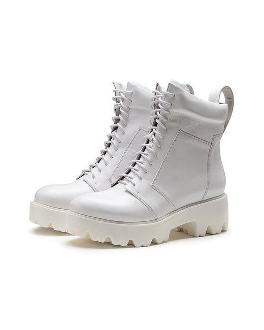 O.E | Женские Белые Ботинки
