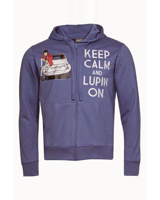 Lupin   Синяя Толстовка