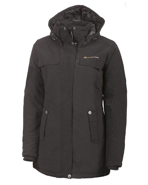 AlpinePRO | Женское Чёрное Пальто