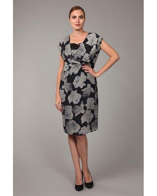 Lanvin | Женское Серое Платье 2 Предмета