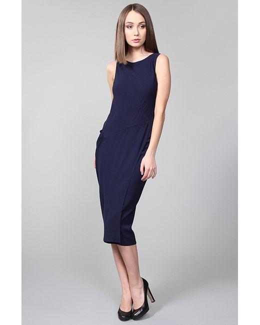 Donna Karan | Женское Синее Платье