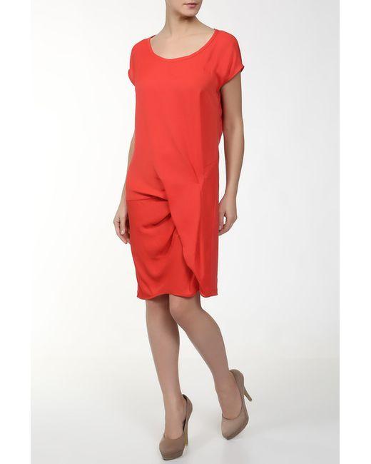 DKNY | Женское Красное Платье
