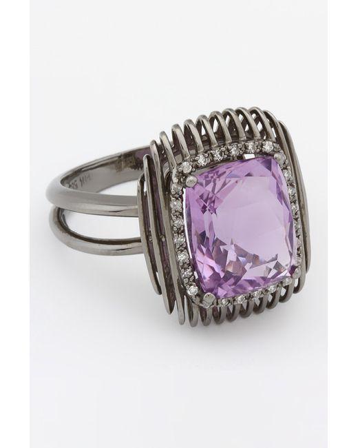 Magic Diamonds | Женское Чёрное Кольцо
