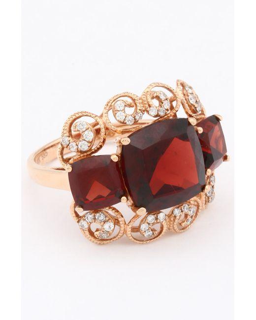 Magic Diamonds | Женское Розовое Кольцо