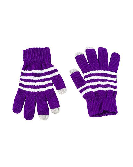Grezzo | Женские Фиолетовые Перчатки Для Смартфонов