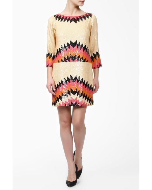 G-Lish | Женское Многоцветное Платье