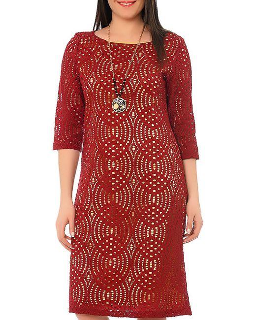 Gullietta Fashion   Женское Красное Платье