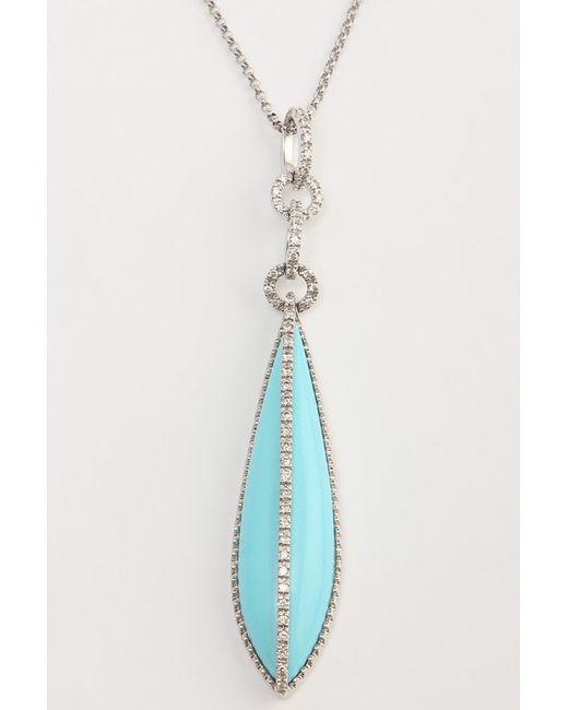 Magic Diamonds | Женская Белая Цепь C Подвеской