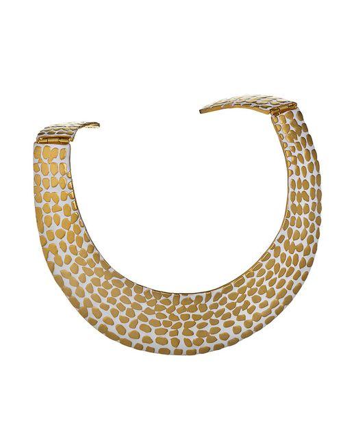 Kenneth Jay Lane | Женское Многоцветное Ожерелье Золото На Белом