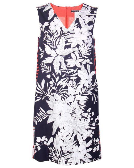 Max Mara | Женское Многоцветное Платье