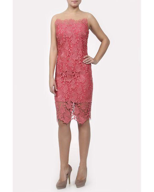 Marchesa Notte | Женское Красное Платье