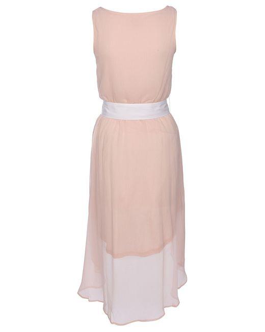 myMo   Женское Розовое Платье