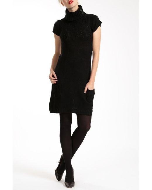 Lea Fashion   Женское Чёрное Платье