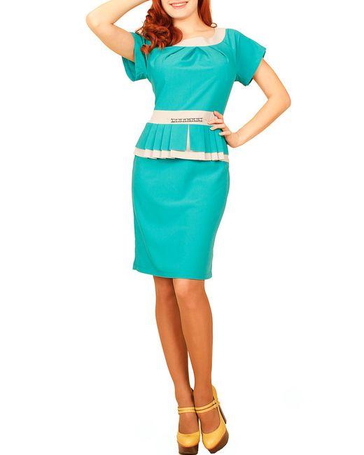 Mankato | Женское Голубое Платье