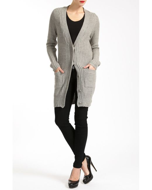 Lea Fashion | Женский Серый Кардиган