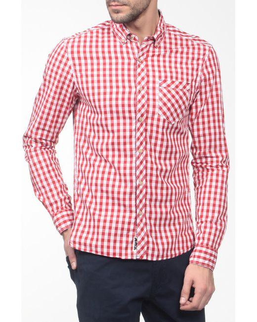Reserved | Мужская Красная Рубашка