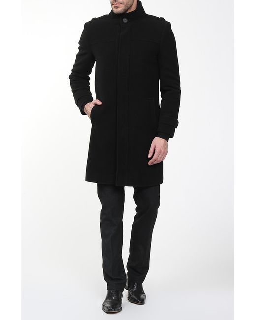 Амулет   Мужское Чёрное Пальто