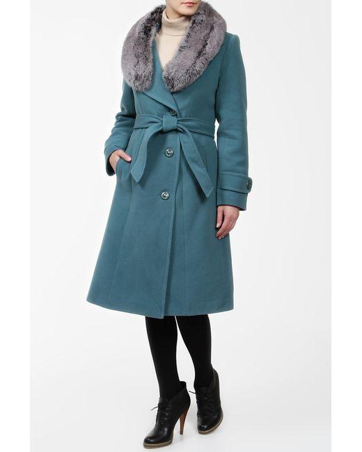 Фортуна   Женское Зелёное Пальто