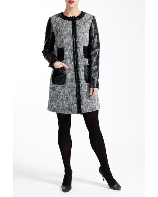 Paola Collection | Женское Чёрное Пальто