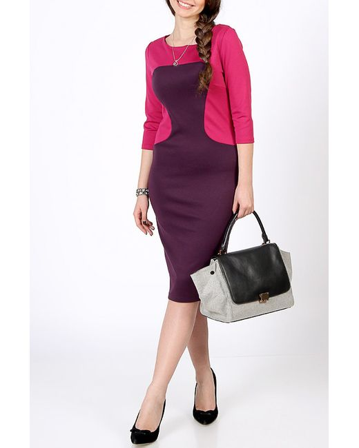 Spicery | Женское Фиолетовое Платье Марина