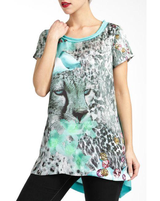 Paola Collection | Женская Многоцветная Блузка
