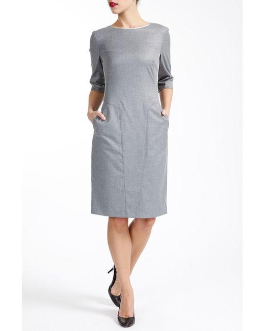 Paola Collection | Женское Серое Платье