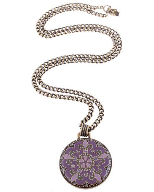 Clara Bijoux | Женское Фиолетовое Колье