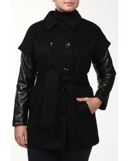Амулет   Женское Чёрное Пальто