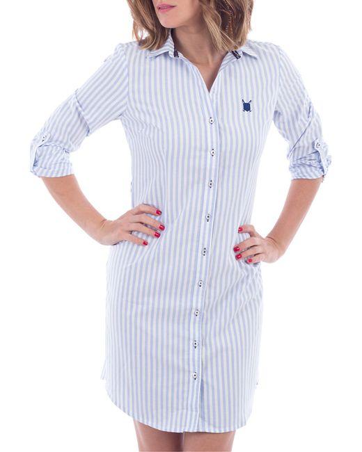 Polo Club | Женское Белое Платье