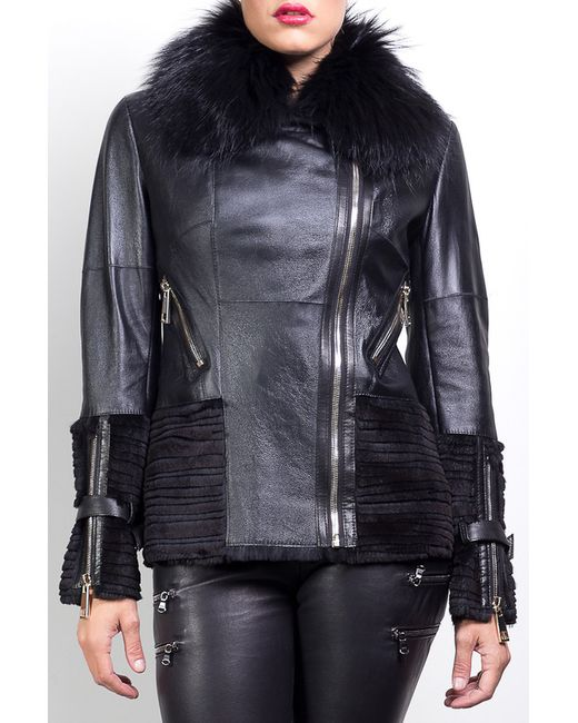 Giorgio   Женская Чёрная Куртка