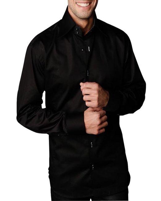 Gazoil   Мужская Чёрная Рубашка
