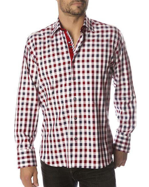 Gazoil   Мужская Красная Рубашка