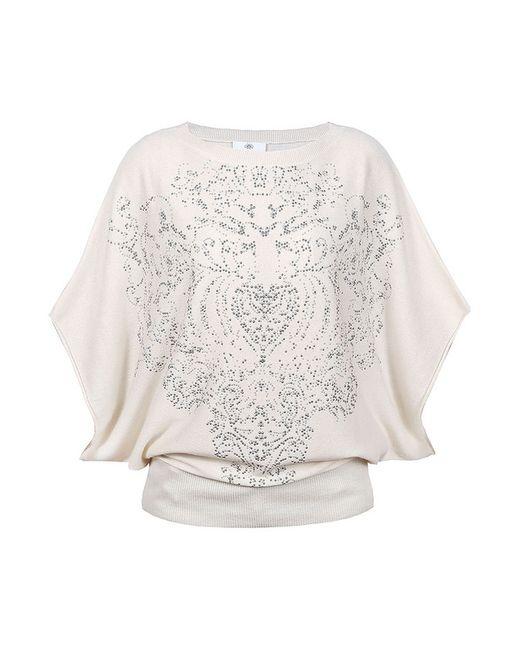 Allude   Женский Белый Пуловер