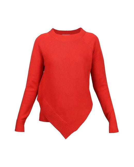 Allude | Женский Красный Пуловер