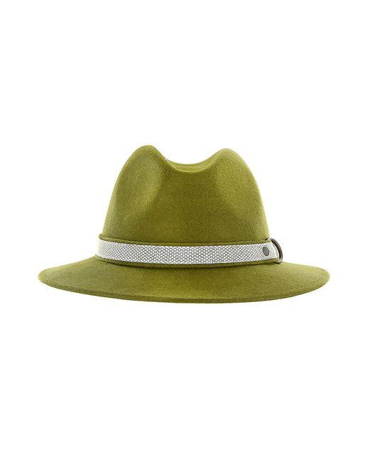 Marzi | Женская Зелёная Шляпа