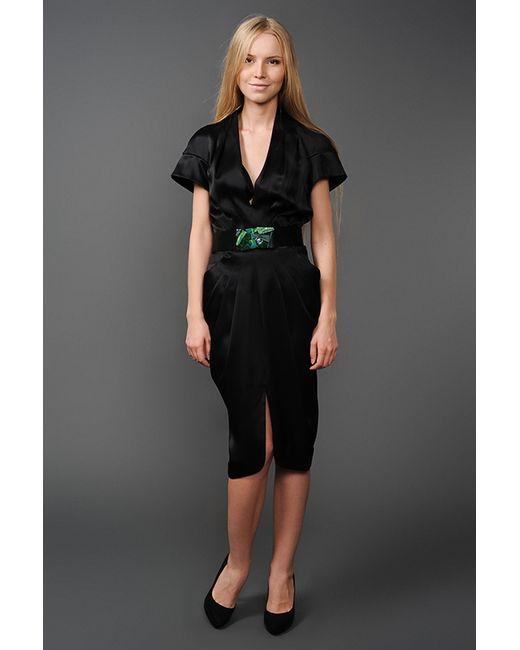 MALANDRINA | Женское Чёрное Платье