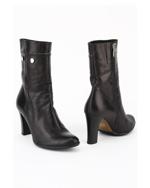Atwa Collection   Женские Чёрные Ботинки