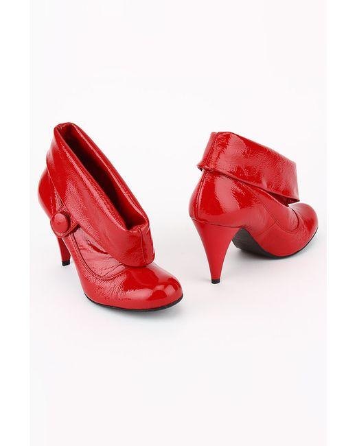 GLUSEPPE MANCINI | Женские Красные Ботинки