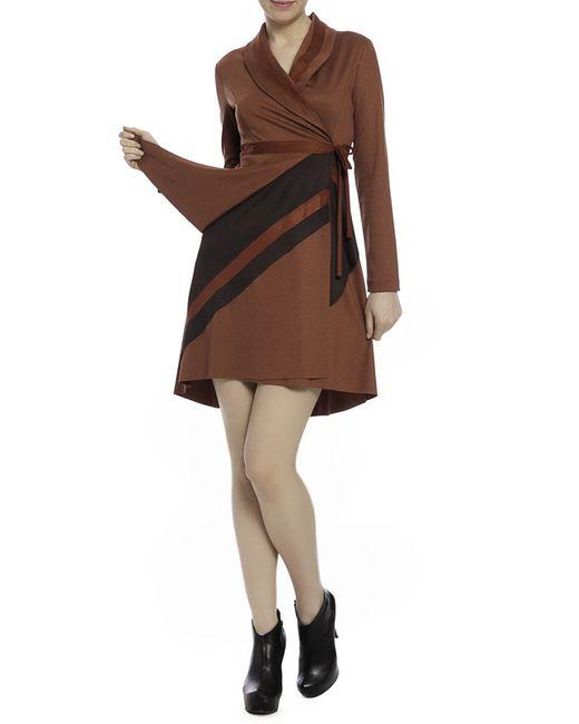 Milanesse | Женское Коричневое Платье