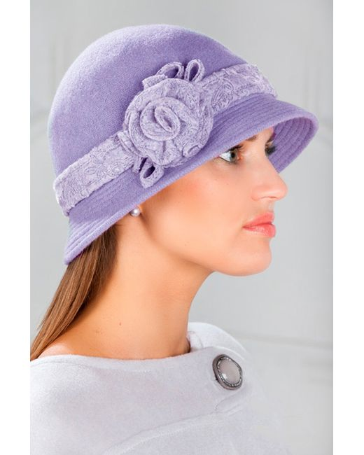 Loricci | Женская Фиолетовая Шляпка
