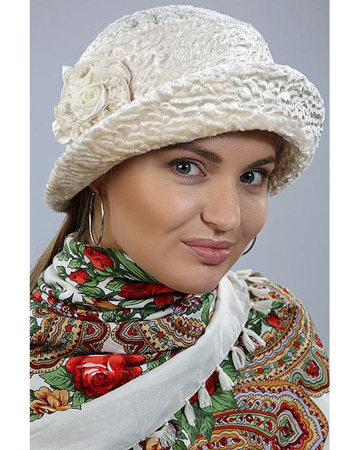 Loricci   Женская Бежевая Шляпка