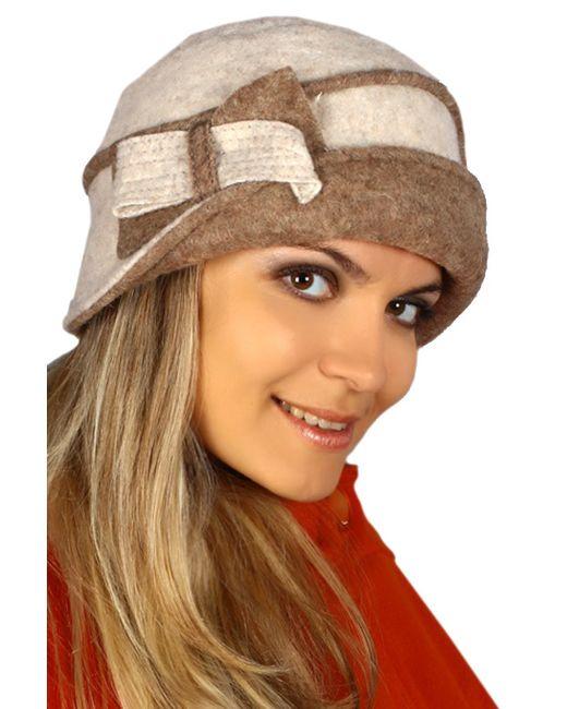 Loricci | Женская Бежевая Шляпка