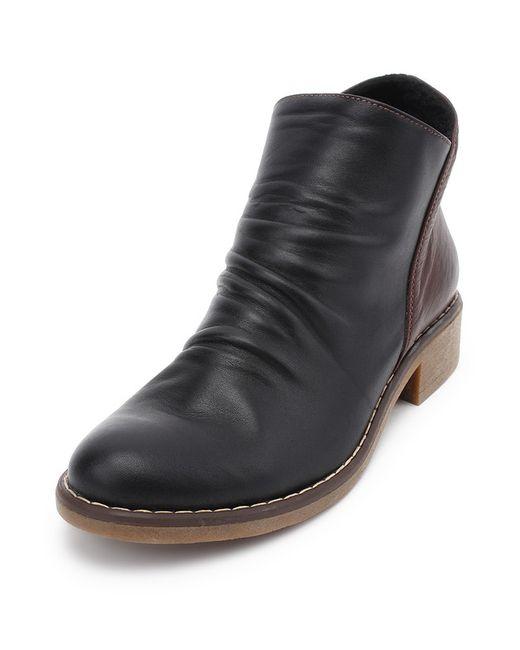 SM SHOESMARKET | Женские Чёрные Ботинки