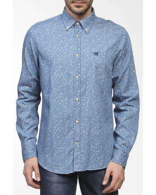 Henry Cotton's | Мужская Многоцветная Рубашка