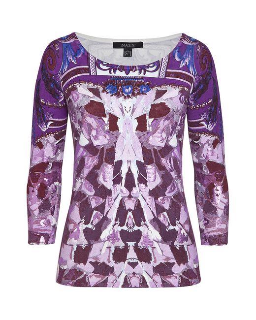 IMAGINI | Женский Фиолетовый Пуловер
